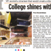 College Shines with Campus Design,DNA